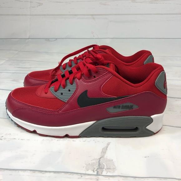 new style 8f7c1 e11ed Mens Sz 11.5 Nike Air Max 90 Red 537384 606